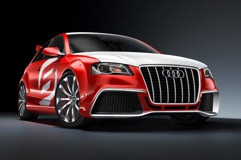 Audi unveils the A3 TDI Clubsport Quattro Concept