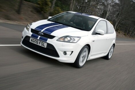 Ford unveils the facelifted Focus ST