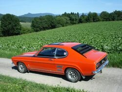 V8 and Ford Capri: only in South Africa