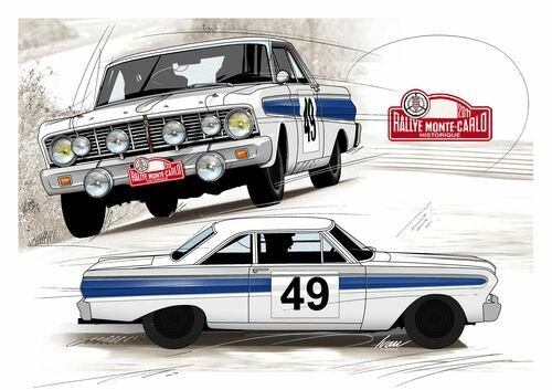2011 Historic Rallye Monte Carlo VIP package: be with the Ford Falcon Team