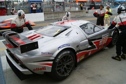 Doran Ford GT box LM24 2011