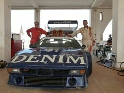 BMW M1 DENIM Procar Dakar 2011
