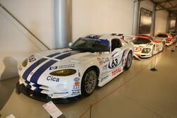 1997 Chrysler Viper GT2 racecar returns to Le Mans