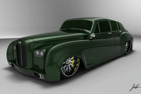 Bentley Boys S3 design study