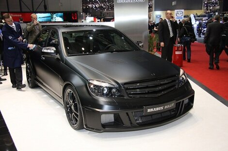 Geneva: Brabus Bullit Black Arrow