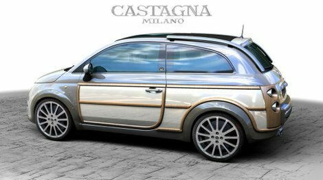 Castagna unveils the 500 WoodyWagon