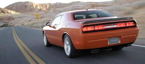 Leaked pictures of the Dodge Challenger