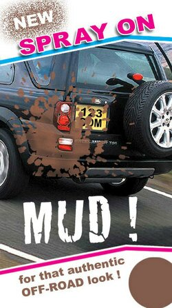 Urban mud bath for SUVs
