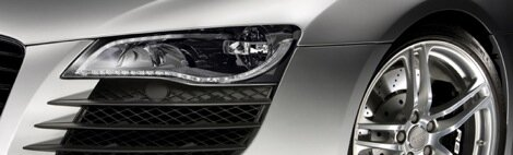 Audi R8 to feature full LED headlights
