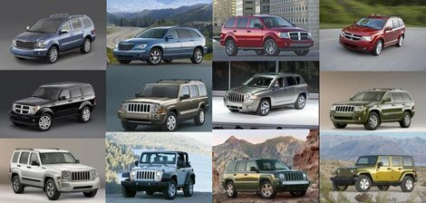 Chrysler to reduce its SUV lineup